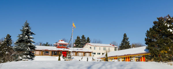 Orgyan Osal Cho Dzong in Winter