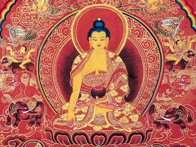 Shakyamuni Painting