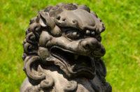 Temple Bronze Lion - Orgyan Osal Cho Dzong